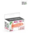 Plug anal réaliste 11 cm - Real Tim