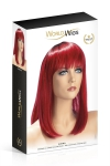Perruque Elvira rouge - World Wigs
