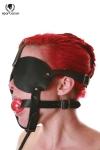 Masque harnais Black Fur Line