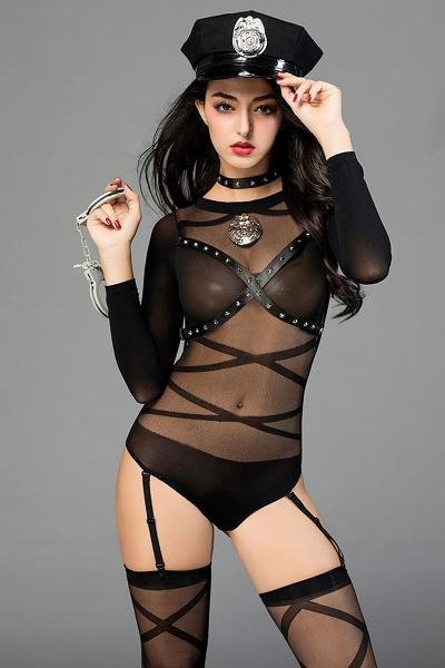 Déguisement sexy policière