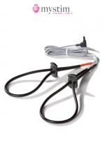 Noeuds électro-stimulation Rodeo Robin - Mystim : Noeuds coulants  special electro stimulation pour le penis ou les testicules.
