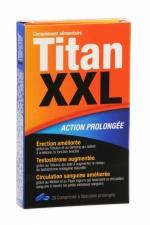 Titan XXL (20 comprimés) - stimulant sexuel : Aphrodisiaque masculin à action prolongée. Améliore l'érection et la circulation sanguine , augmente la testostérone.