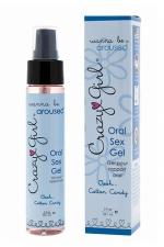 Gel Sexe Oral Crazy Girl - Cotton Candy