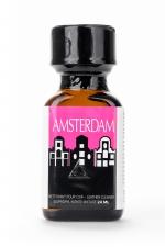 Poppers Amsterdam 24 ml : Un arôme liquide aphrodisiaque puissant, à base de Nitrite d'isopropyle.