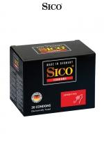 50 Préservatifs Sico SENSITIVE : 50 préservatifs extra fins pour des sensations au plus proche des relations naturelles.